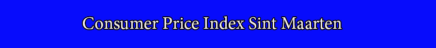 Consumer Price Index Sint Maarten